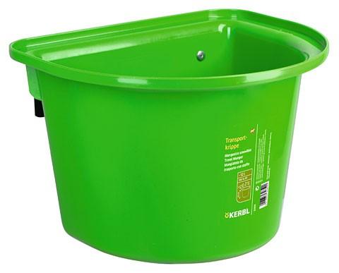 Transportkrippe grün KERBL