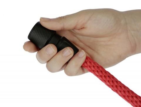 Führstrick GoLeyGo rot mit Adapter-Pin Kerbl