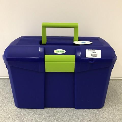 Putzbox Siena blau/lime Kerbl