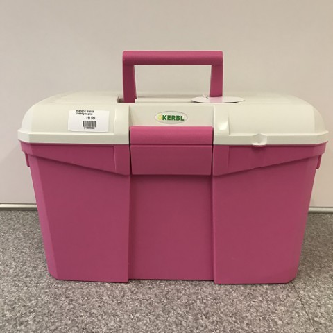 Putzbox Siena pink/grau Kerbl