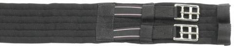 Sattelgurt Textil elastisch kurz schwarz BUSSE