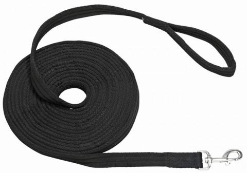 Longe Soft schwarz 8m BUSSE