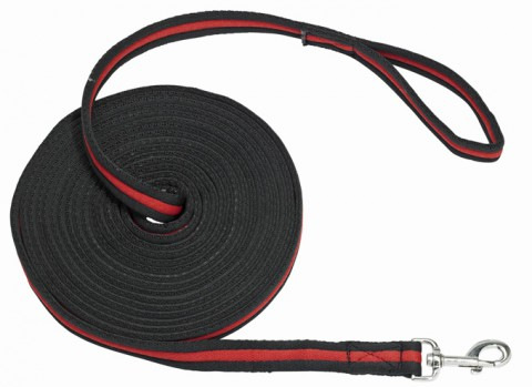 Longe Soft schwarz/rot 8m BUSSE