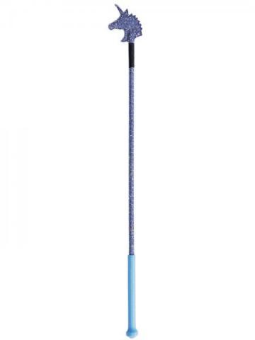 Springgerte Einhorn blau 65cm Busse