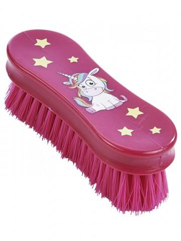 Kopfbürste Einhorn pink Busse