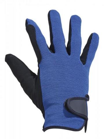 Handschuh Basic royal/schwarz Busse