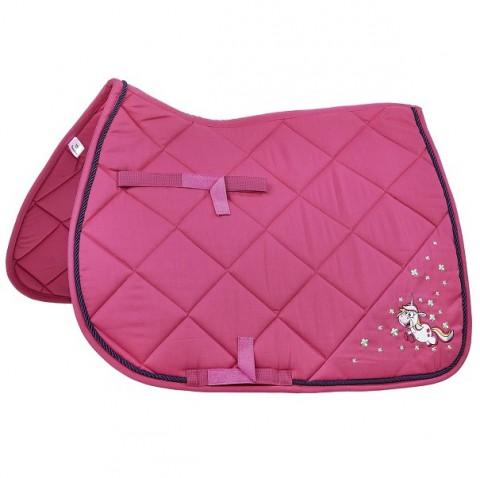 Schabracke Einhorn II pink Dressur Busse