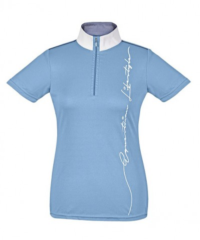 Turnier-Shirt Oldenburg cyan Busse