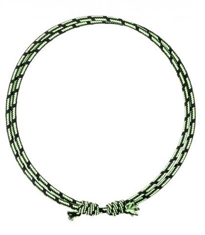 Halsring schwarz/grün USG