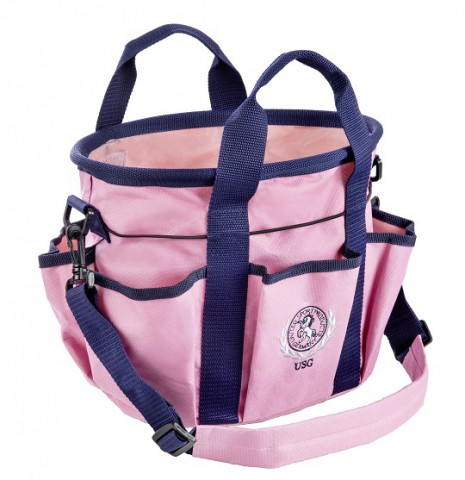 Putztasche klein rosa/marine USG