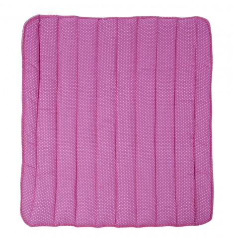 Bandagierkissen Happy 45x50cm pink mit Sternchenmuster HKM