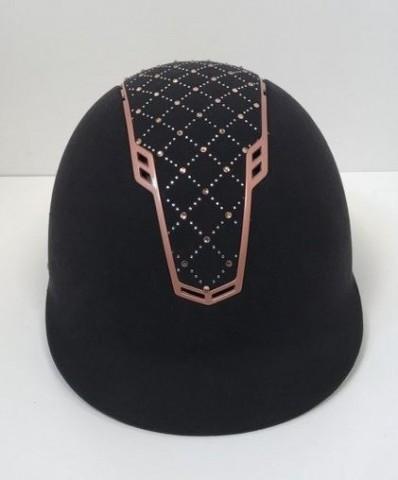 Reithelm Linz Style schwarz/rosegold von HKM