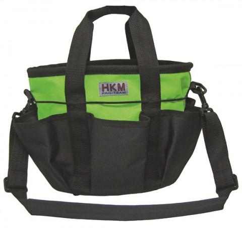 Putztasche Colour schwarz/grün HKM