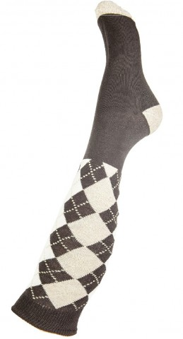 Reitsocken Windsor braun HKM