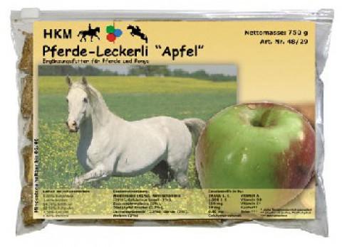 Apfel-Pferdeleckerli 750g HKM