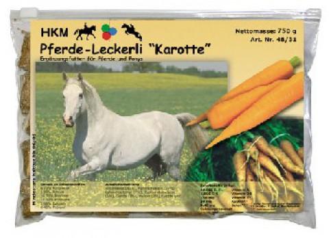 Karotten-Pferdeleckerli 750g HKM