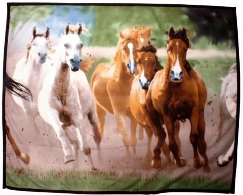 Tagesdecke Pferdeherde HKM