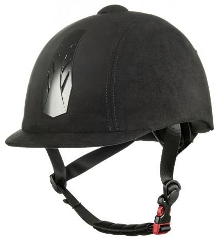Reithelm New Air Stripe schwarz/schwarz HKM