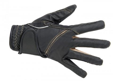 Handschuhe Fashion schwarz/sand HKM