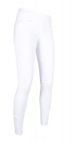 Kinderreitleggings Starlight weiss/weiss HKM