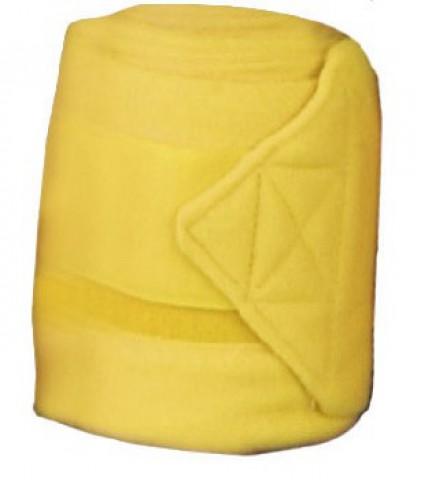 Fleecebandagen 2m gelb HKM