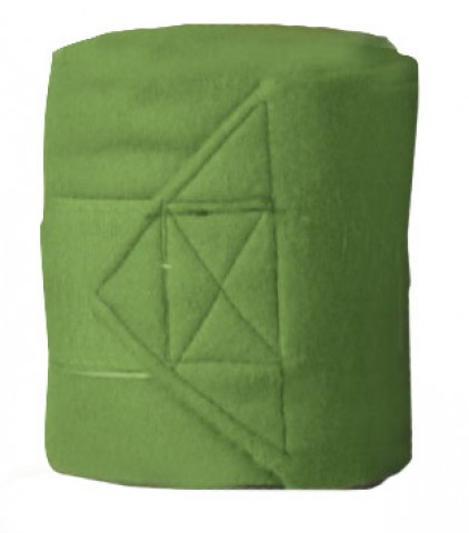Fleecebandagen 2m grasgün HKM