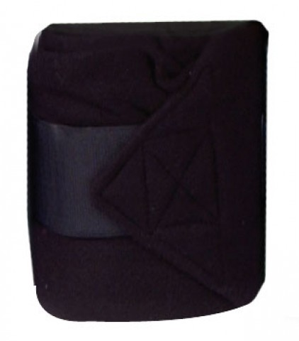 Fleecebandagen 2m schwarz HKM