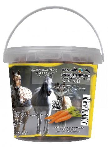 Karotten-Pferdeleckerli im Eimerchen 750g HKM