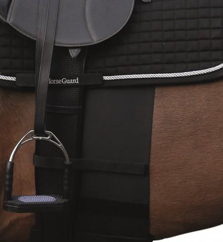 HG Sporenschutzgurt schwarz scan-horse