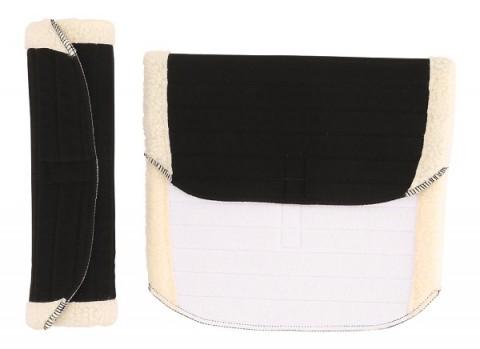 Bandagenunterlagen schwarz 45x37cm scan-horse