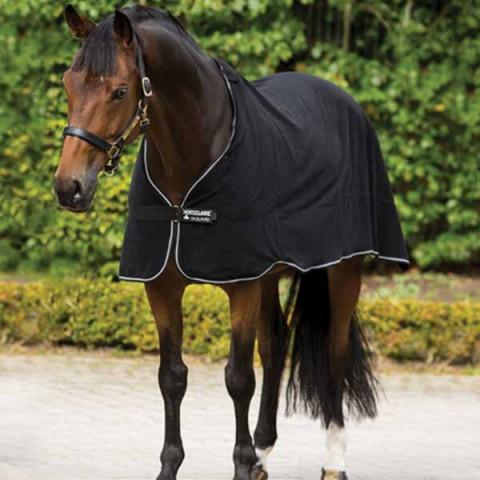 Fleece Liner 300g schwarz/weiss Horseware
