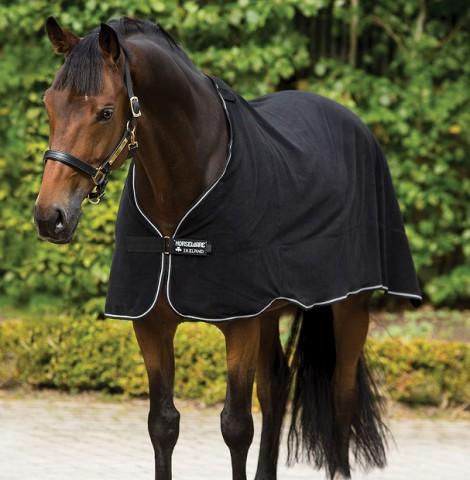 Fleece Liner 300g black/white Horseware