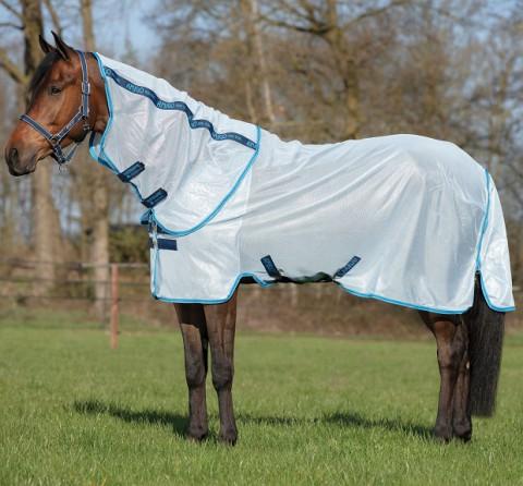 Amigo Bug Rug Fliegendecke azur blue/elec blue/navy Horseware