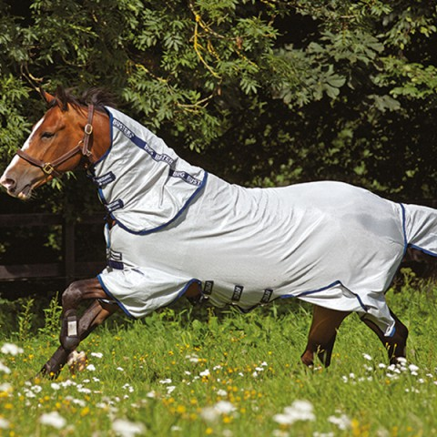 Amigo Bug Buster Vamoose silber/blau HORSEWARE