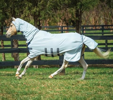 Rambo Pony Hoody grey/beige/babyblue/navy Horseware