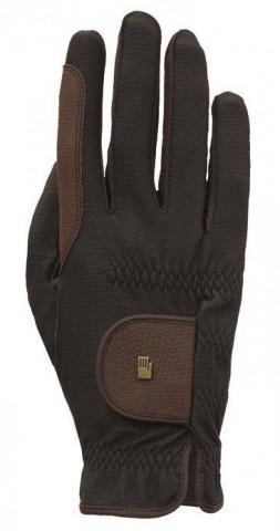 Handschuh Malta schwarz/mokka Roeckl
