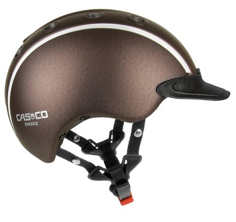 Reithelm Choice Uni braun metallic Casco