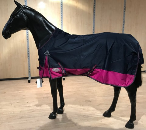 Regendecke TopLine London navy/pink Daselfo